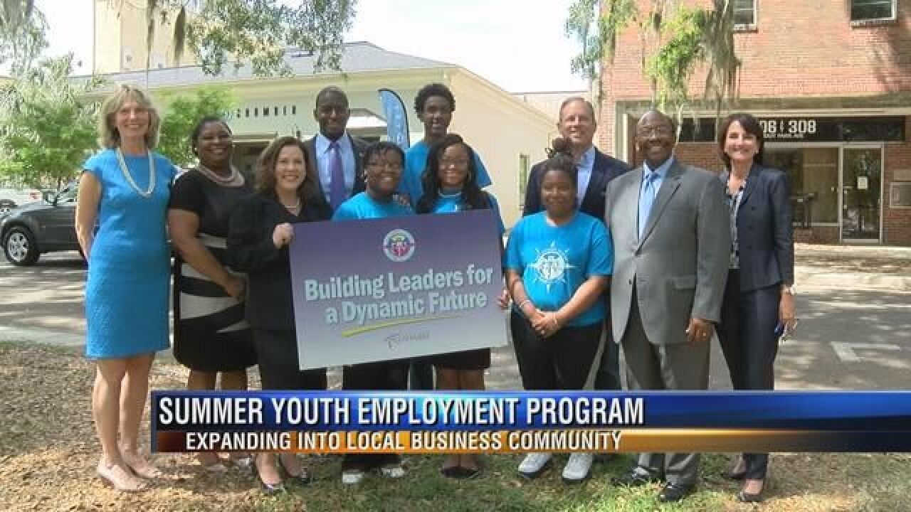 Tallahassee Expanding Summer Youth Job Program, Businesses Needed