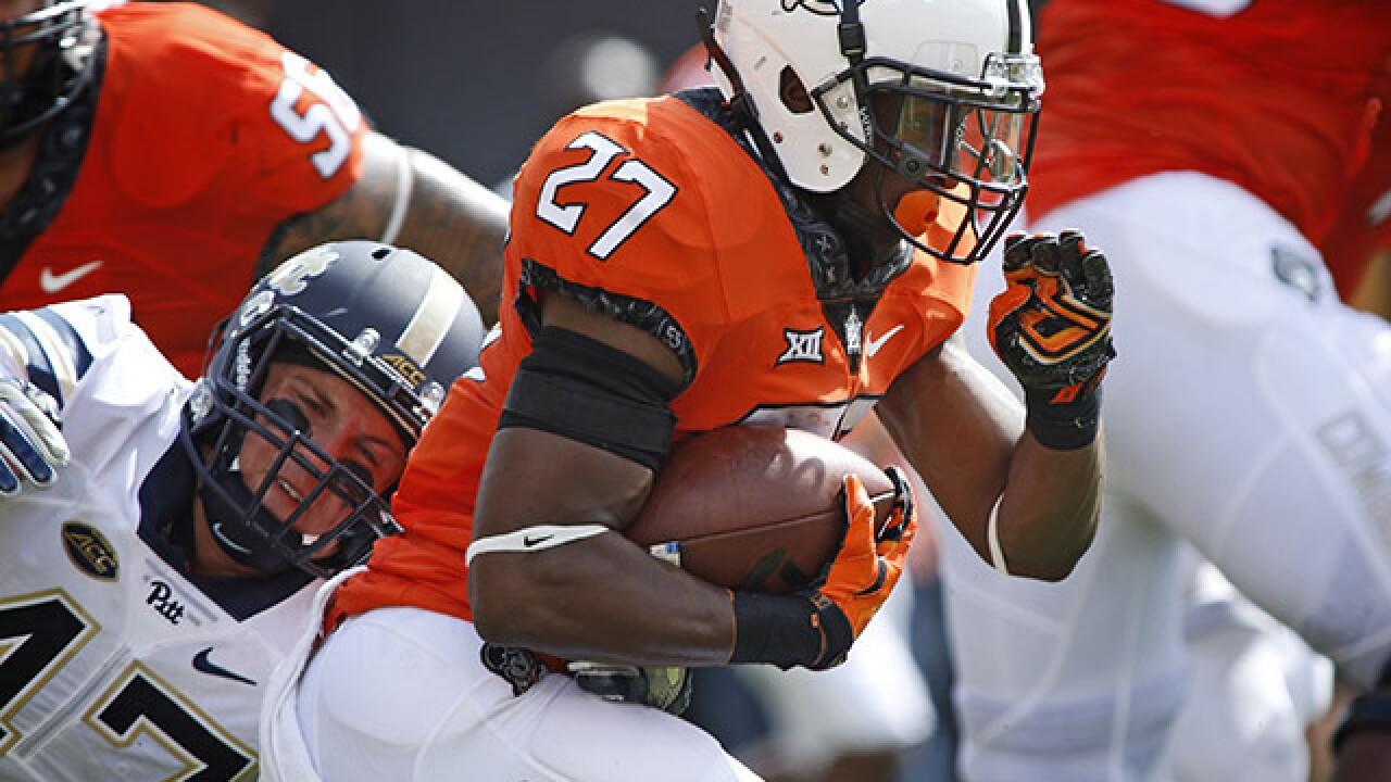 PHOTOS: OSU beats Pittsburgs Panthers 45-38