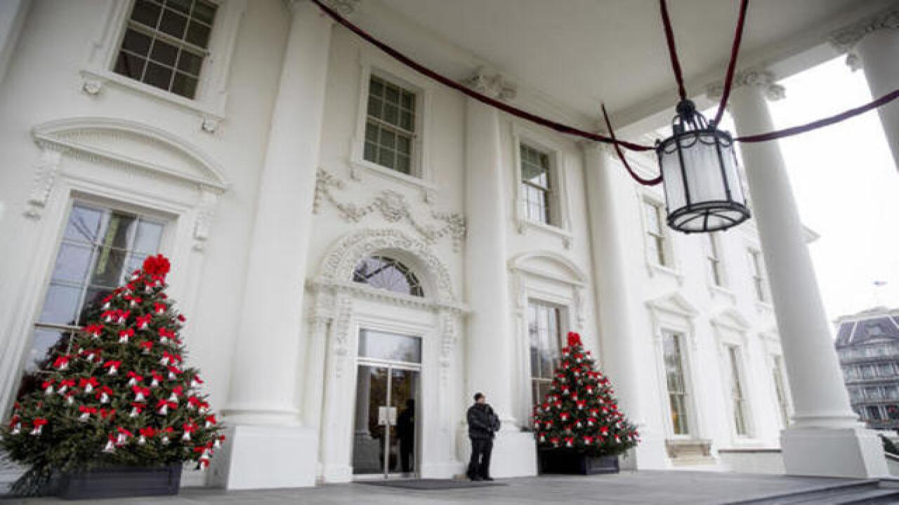 President Obama\'s final White House Christmas
