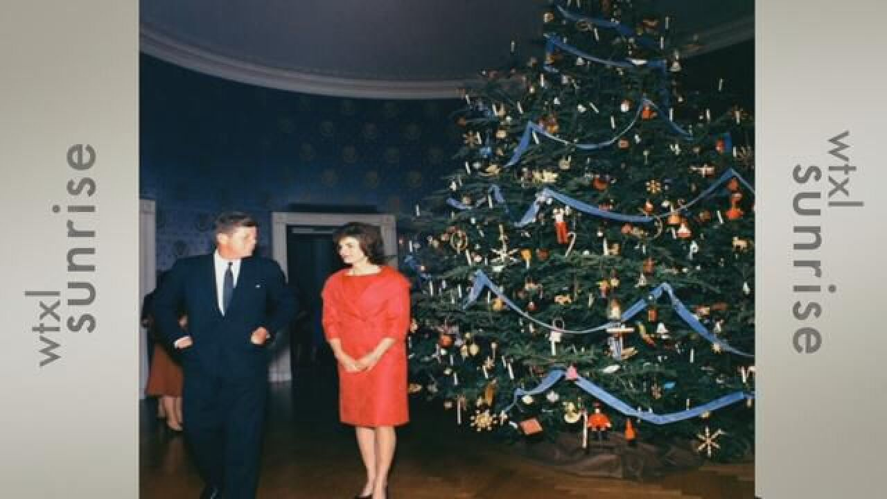 SECOND CUP: White House Decorations of Year's Past Administrations