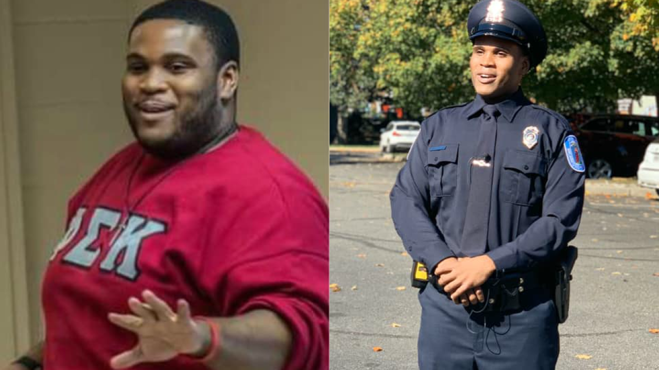 How this new Richmond Police officer dropped 176 pounds to achieve hisdream