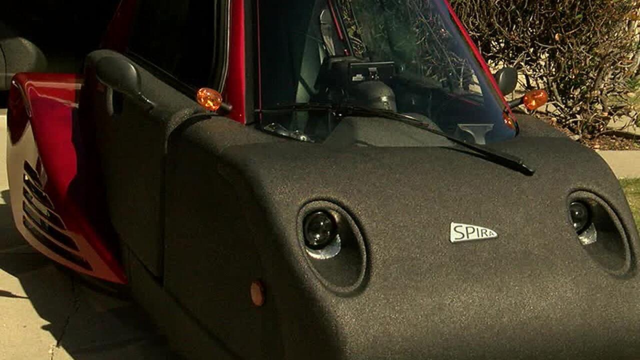 Tierrasanta man claims special car saves lives