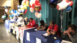 Eagles, Bears celebrate National Signing Day
