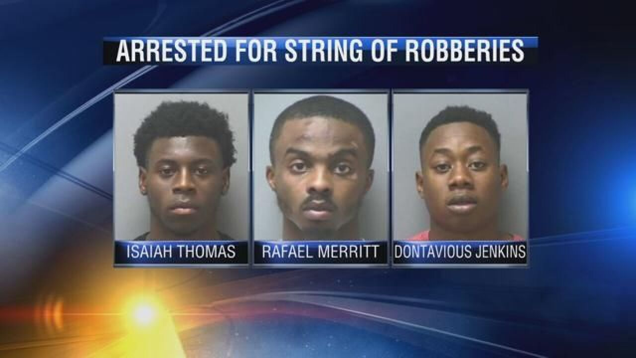 Serial robbers in south Georgia arrested