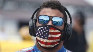 Bubba Wallace responds to Trump: 'Even when it's hate from POTUS, love wins'