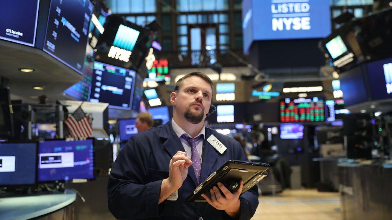 Trade worries send stock marketplunging