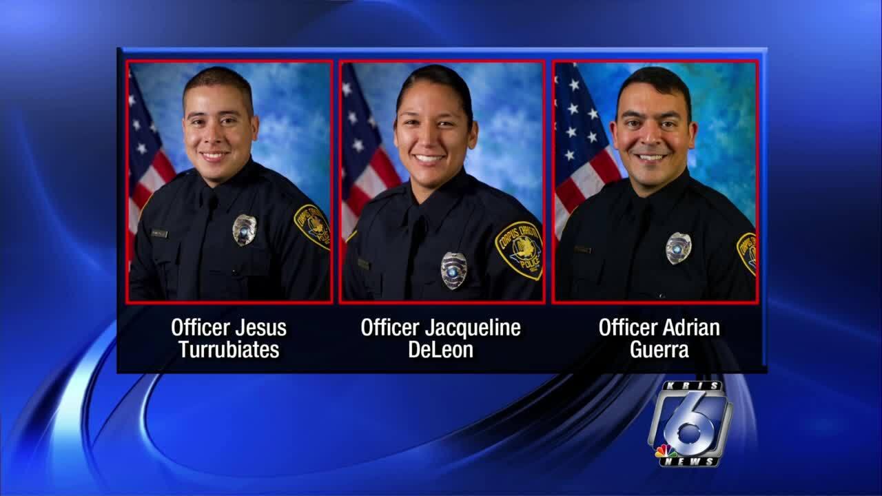 Officer Jesus Turrubiates, Jacqueline DeLeon, Adrian Guerra.jpg
