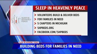 Building beds for families in need