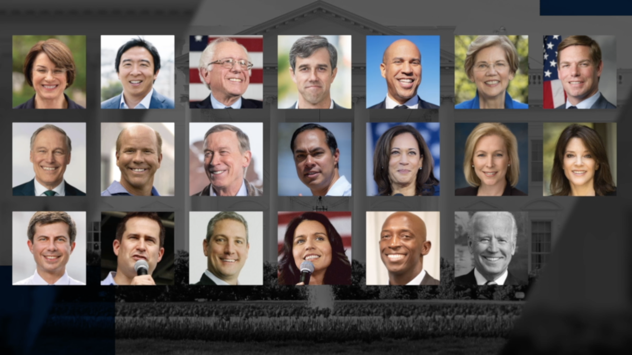2020 Democratic presidential field grows; impact it could have on race