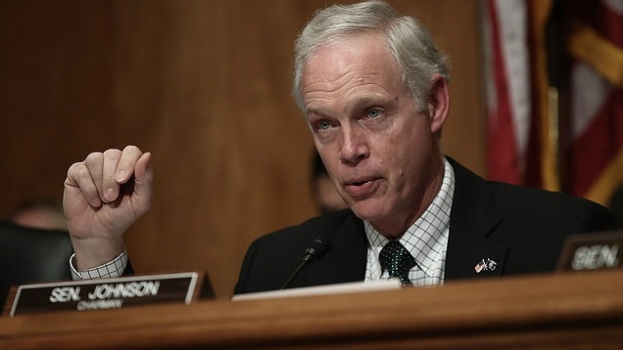 Wisconsin Senator Ron Johnson says informant claims FBI has 'secret society' working against Trump