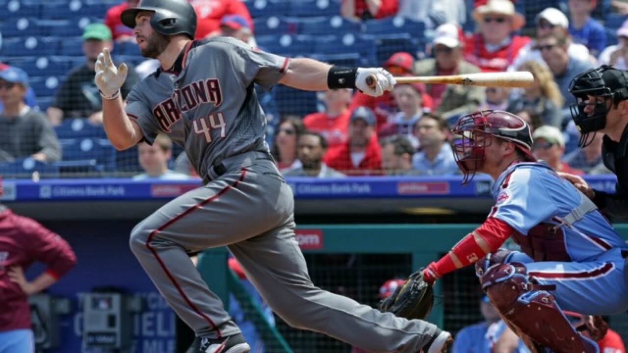 Diamondbacks beat Phillies to match 41-year-old National League record