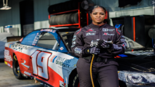 Meet NASCAR's First Black Female Tire-changer