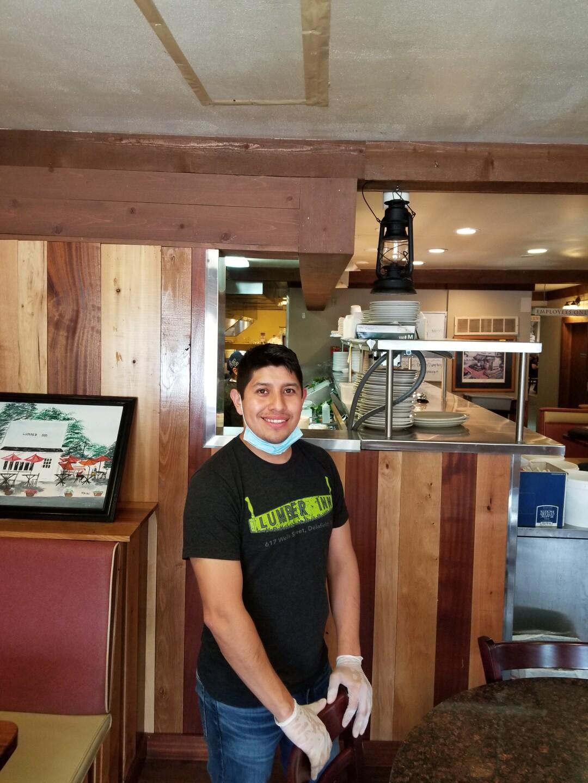 Lumber Inn owner, Raul Perez