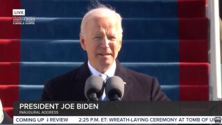 Joe Biden was sworn in as the 46th president of the United States on Wednesday
