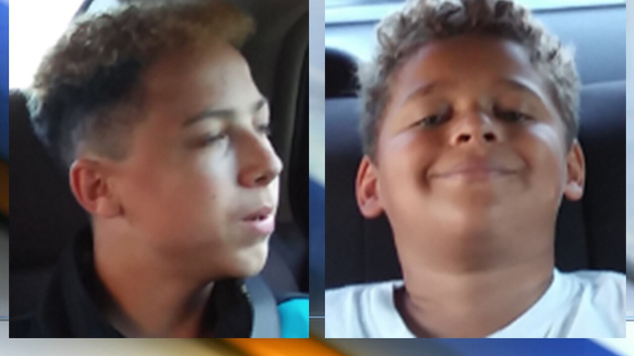 Two missing boys found safe, Olathe police say