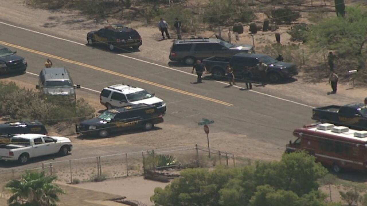 MCSO: Suspect injured in East Valley shooting