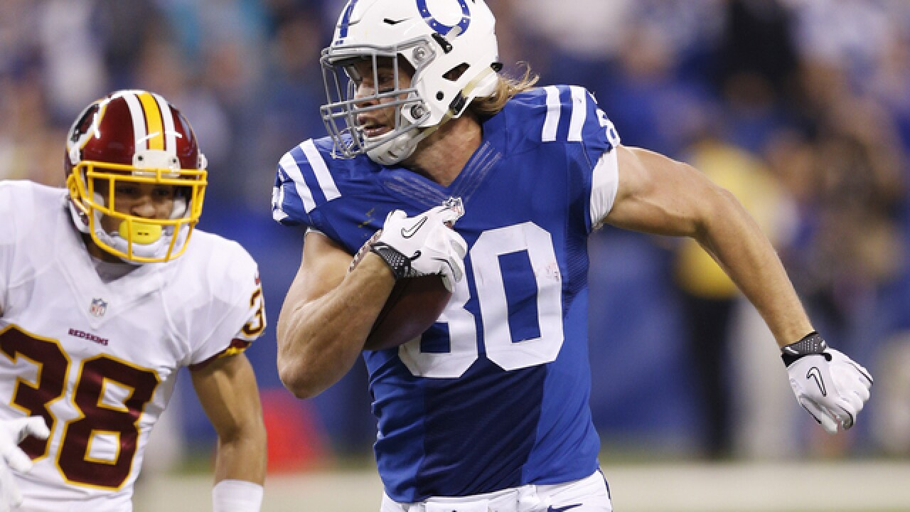Saints release former Colts tight end Coby Fleener