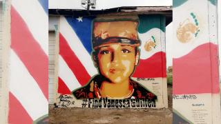 Vanessa Guillen mural in Donna, TX