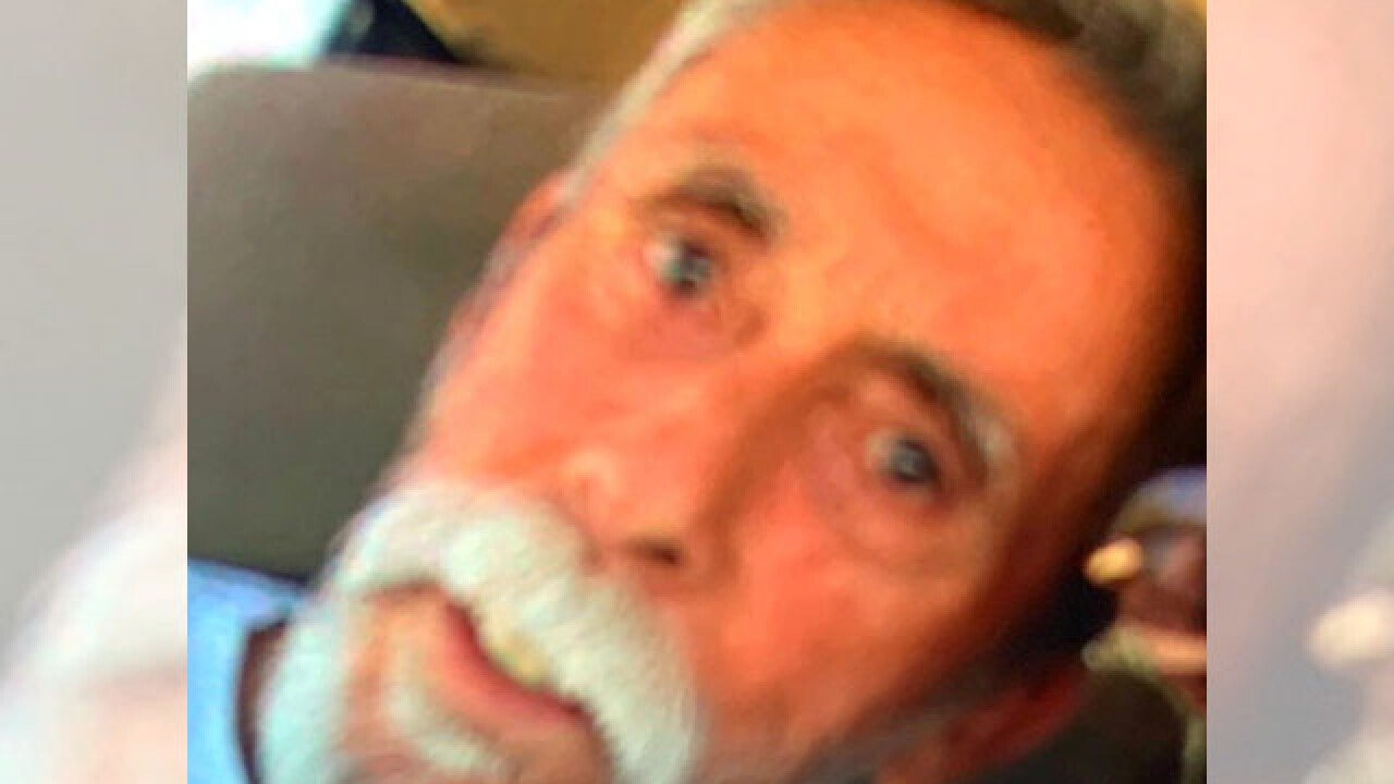 Tucson police say a missing, vulnerable 72-year-old man has been found and will be reunited with family. Photo via TPD.
