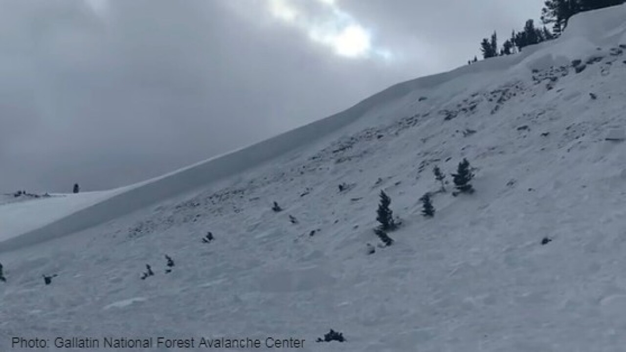 Photo: Gallatin National Forest Avalanche Center