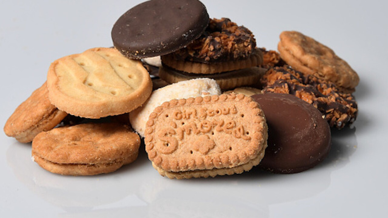 Girl Scout selling cookies robbed in Philadelphia
