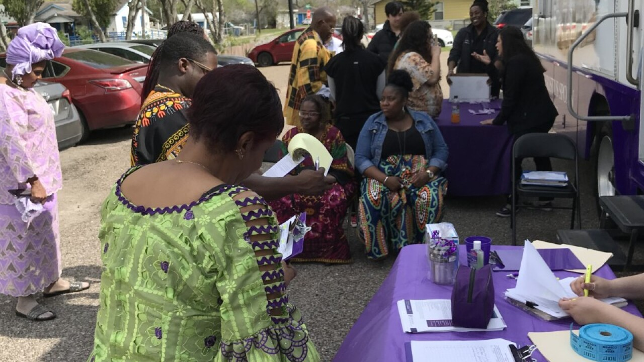 NAACP engages community with health fair