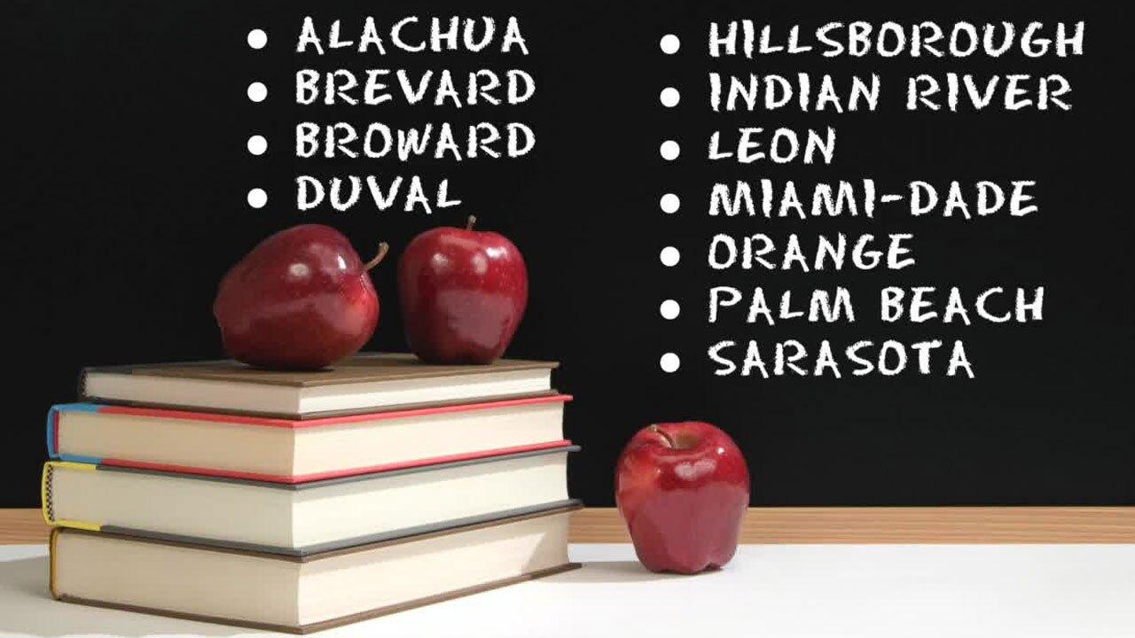 Schools in Florida defying ban on mask mandates