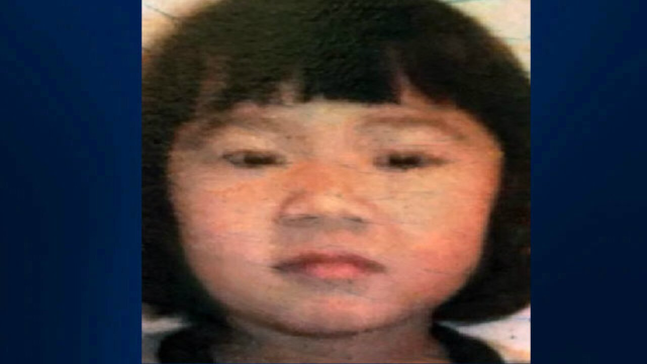 Police looking for missing 5-year-old girl