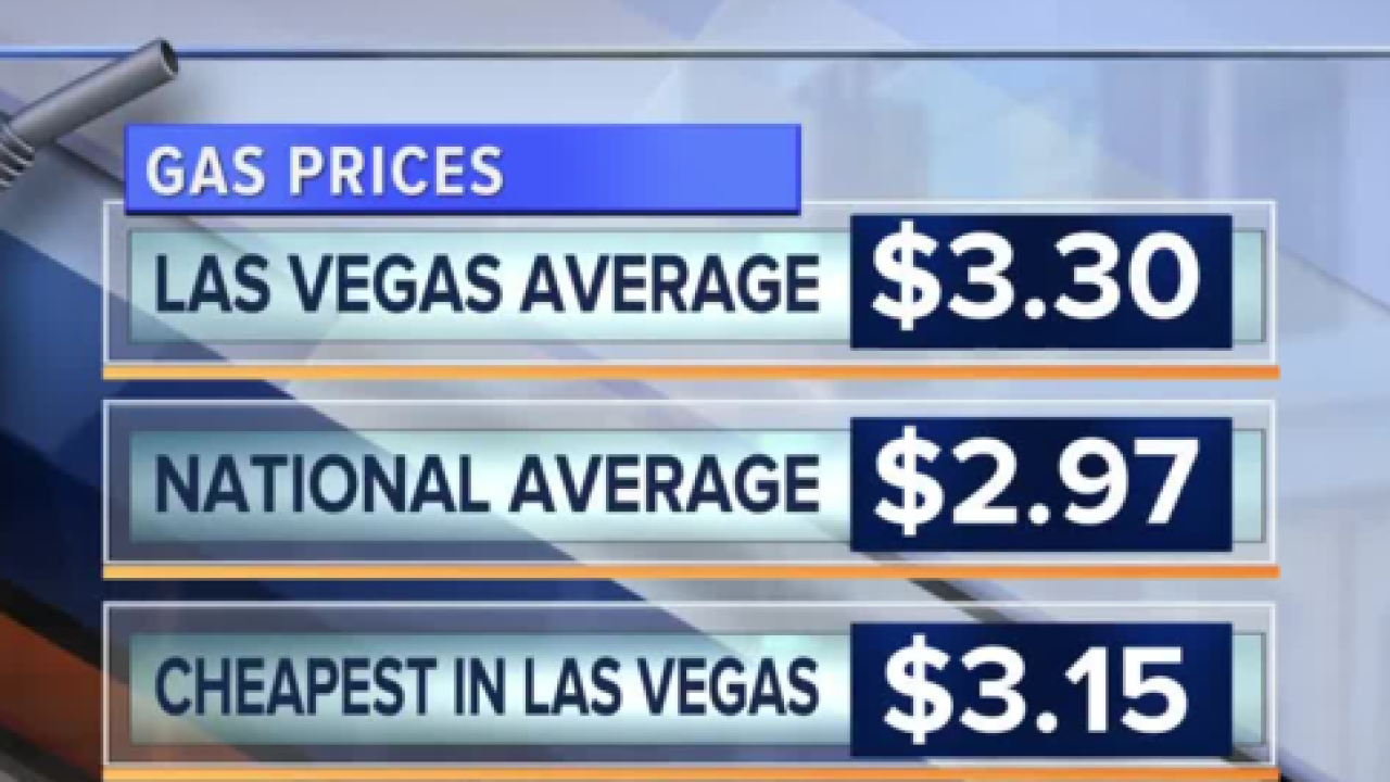 Las Vegas Gas Prices >> Memorial Day Weekend Gas Prices At Highest In 4 Years