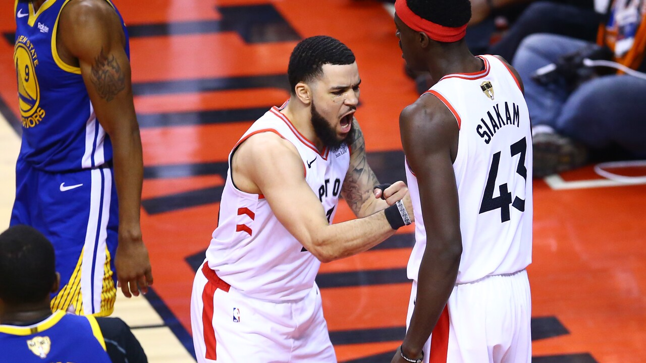 That's a 'Rap': Toronto Raptors dethrone Warriors to win first NBA title