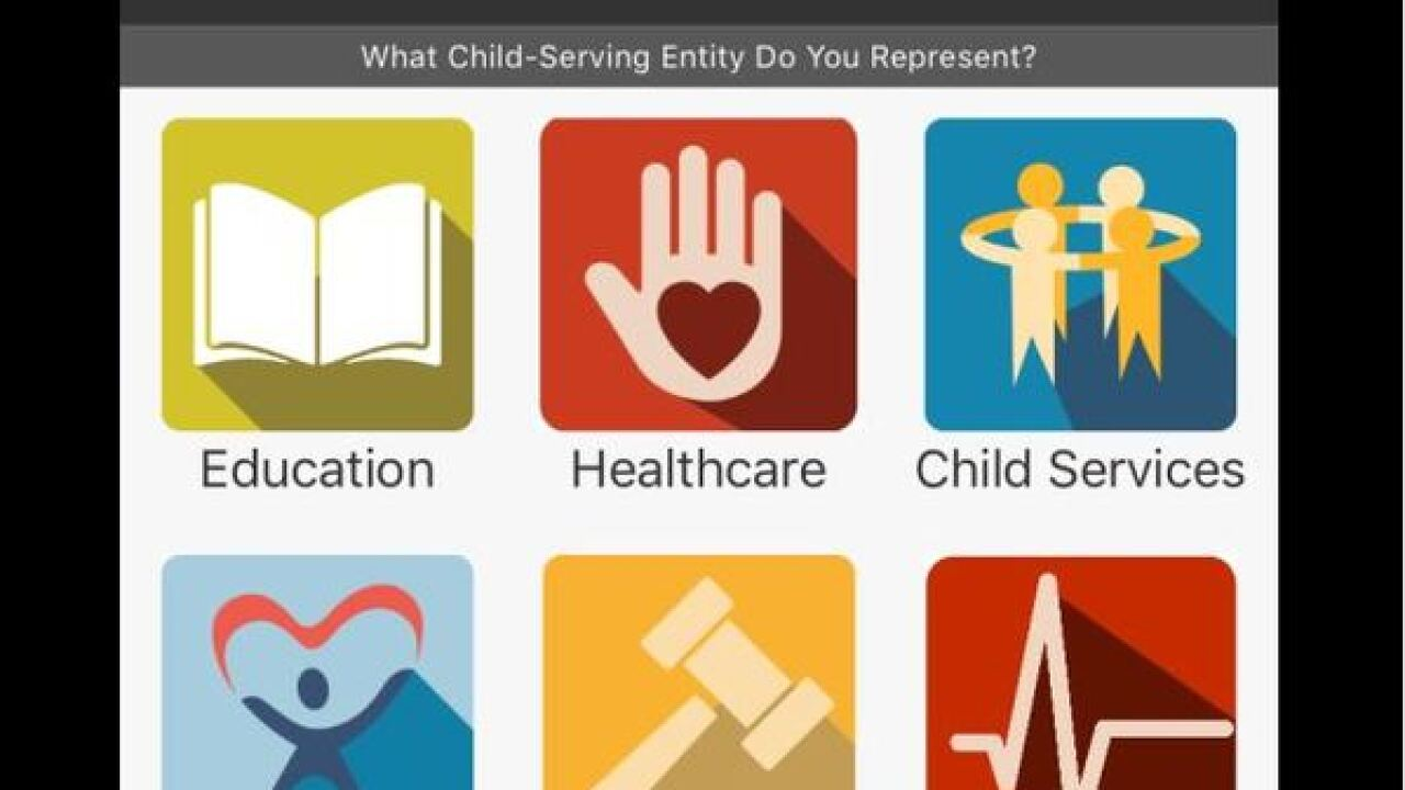 States new app will improve child record sharing