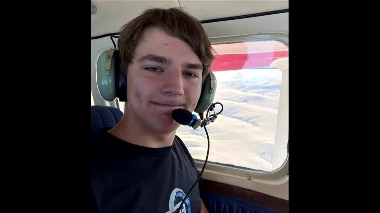 He survived a plane crash that killed his dad. Now this Billings teen wants to get back in the air