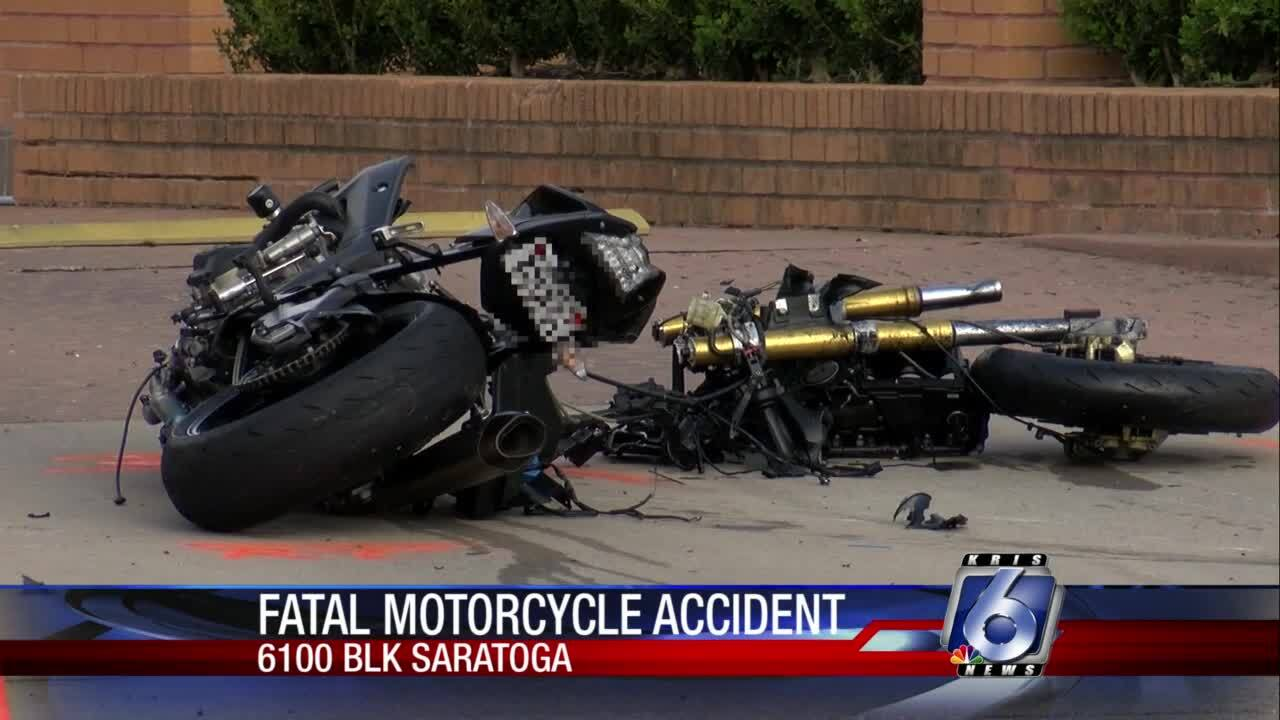 Motorcyclist killed in accident on Saratoga
