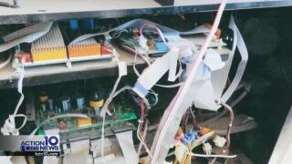 Card skimmers found at local gas station pumps