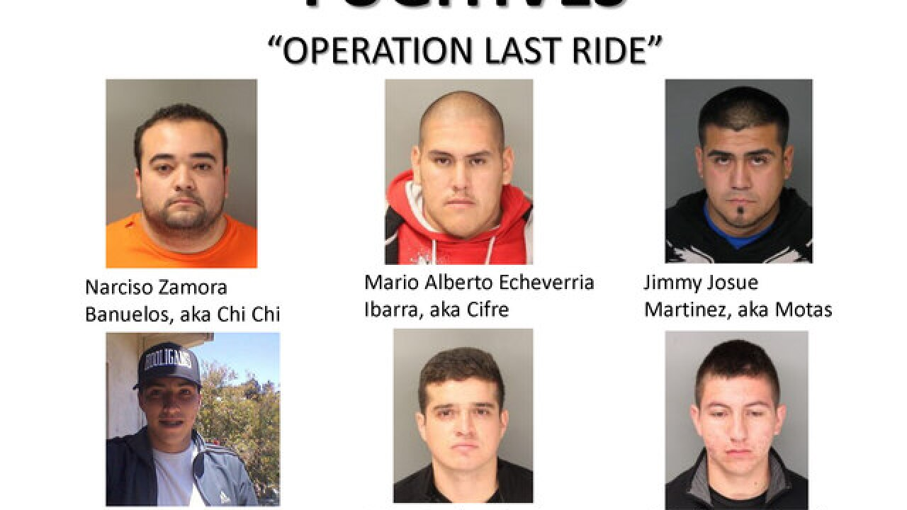 3 arrested, 6 sought in SD Jeep Wrangler thefts