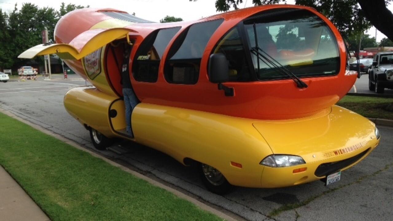 Wienermobile makes stop in Tulsa