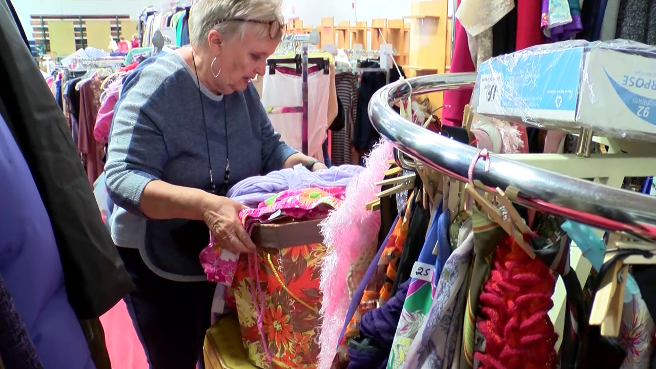 Salvation Army Women's Auxiliary annual sale