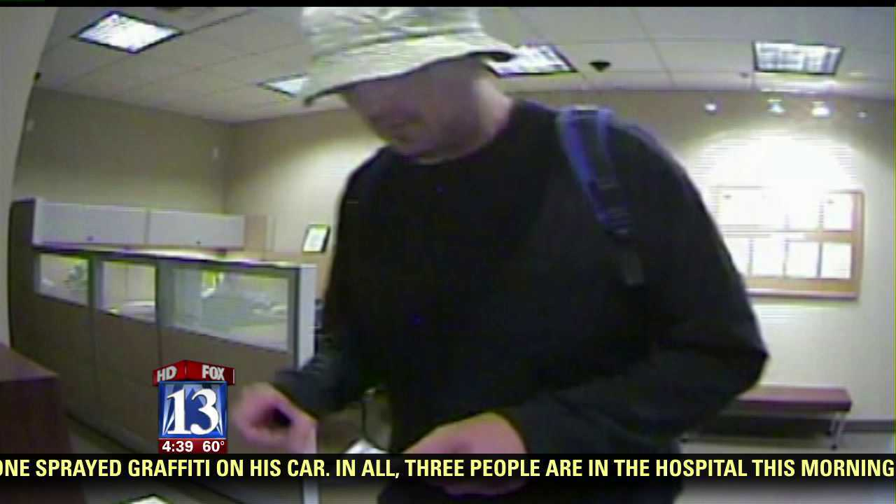 Police searching for suspects in two Sandy bank robberies