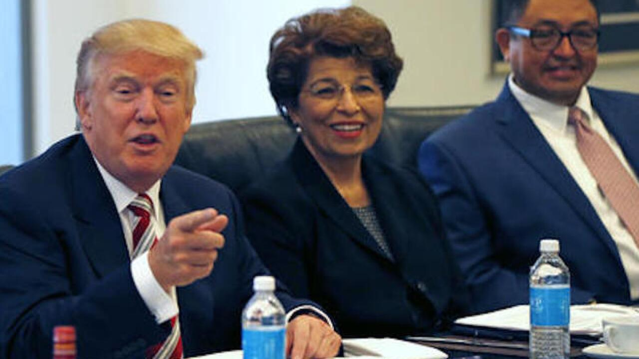 Trump meets National Hispanic Advisory Council