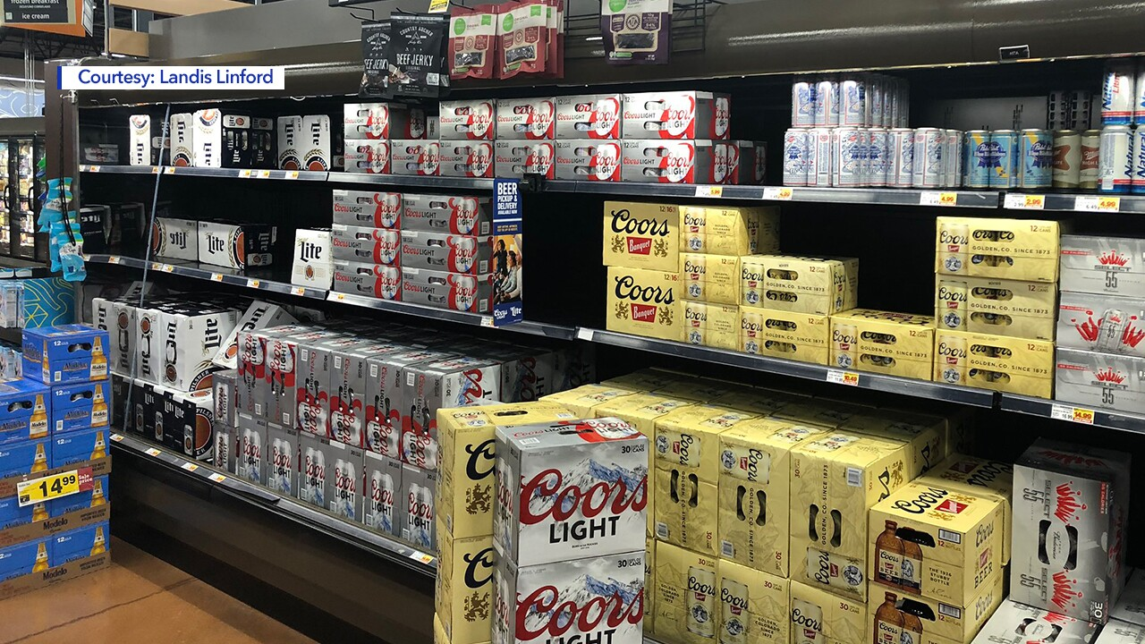Photos: Empty store shelves across Utah as 3.2 beer disappears to make room for heavierbrews