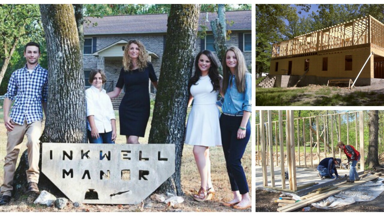 Mom builds 'dream house' for her family using YouTube tutorials