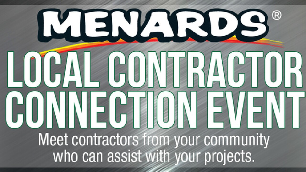 Menards Local Contractor Connection event