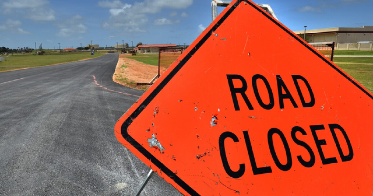 I-29 and Highway 2 ramp closed