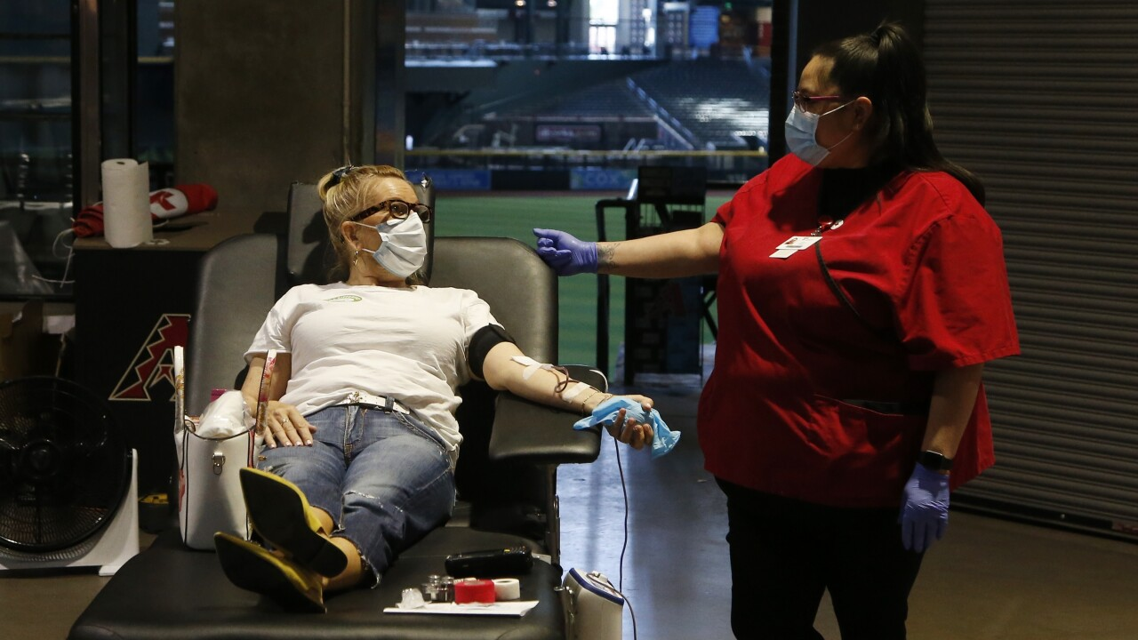 Study looks into possibility of paying people to donate blood