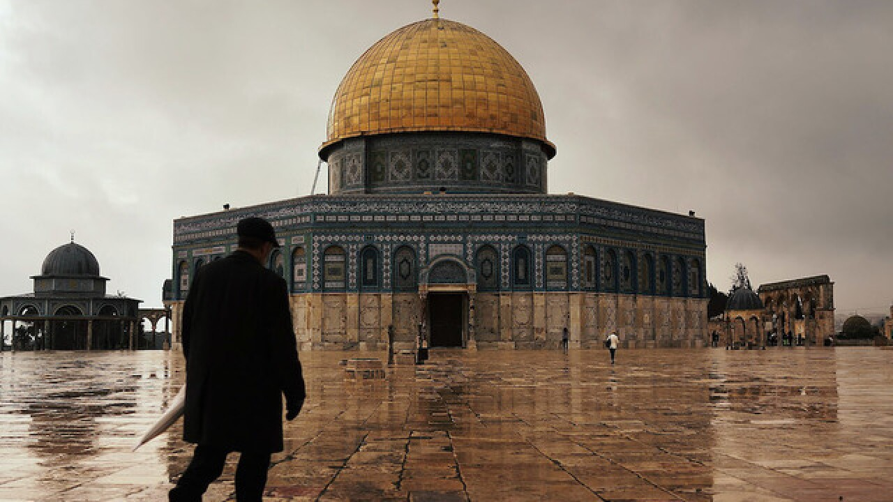 Islamic leaders boycott Jerusalem site over metal detectors