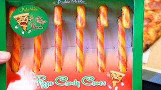 Pizza-flavored Candy Canes Are Here To Help You Celebrate The Holidays
