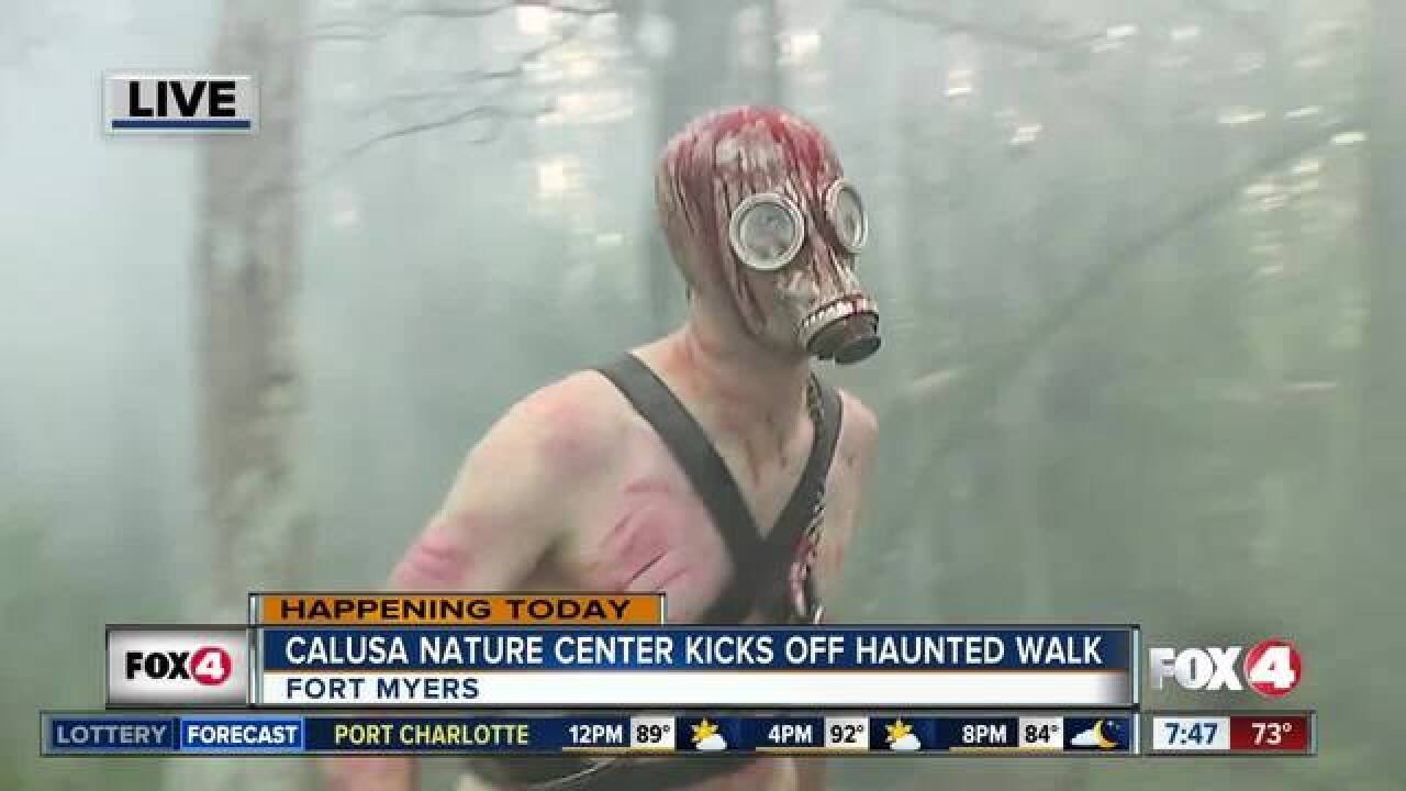 Calusa Haunted Walk raises money for animal care
