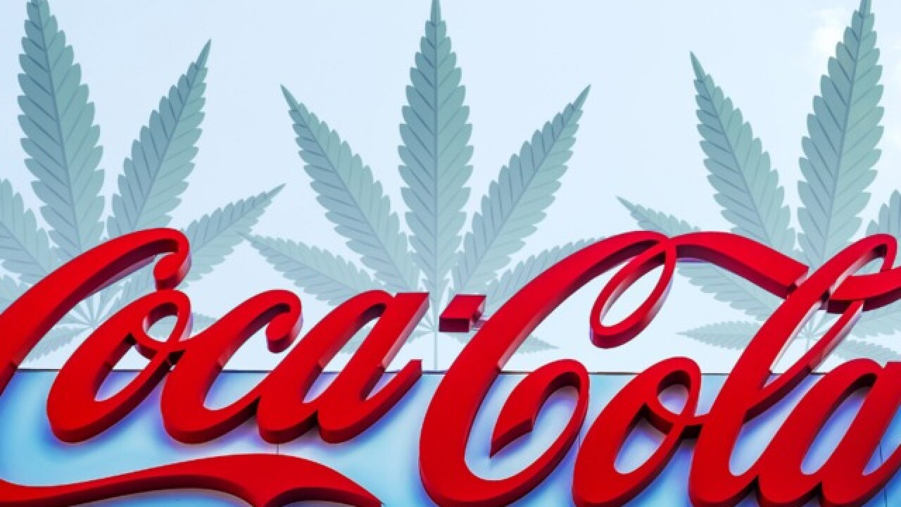 Cannabis cola? Coca-Cola considering a move into weed-infused drinks