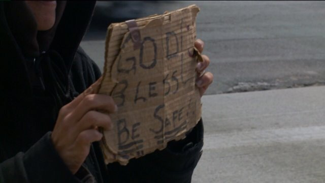 New traffic safety law bans panhandlers from Utah roads