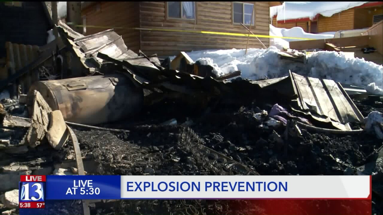 Firefighters talk safety as weather changes create conditions prime for propaneexplosions